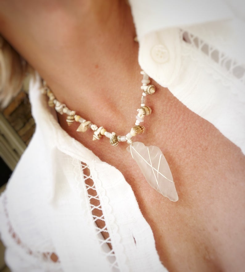 Name:  SBH Sea Glass Necklace by StBarthsVibes.jpg Views: 220 Size:  59.7 KB