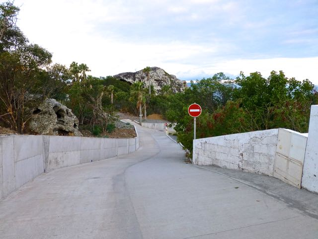 Name:  Road to Colombier Beach.jpg