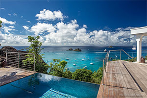 Honeymoon Villas on St Barts