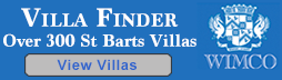 Search St Barts villa rentals